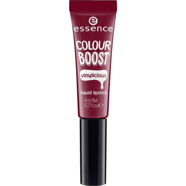 essence colour boost vinylicious liquid lipstick 08