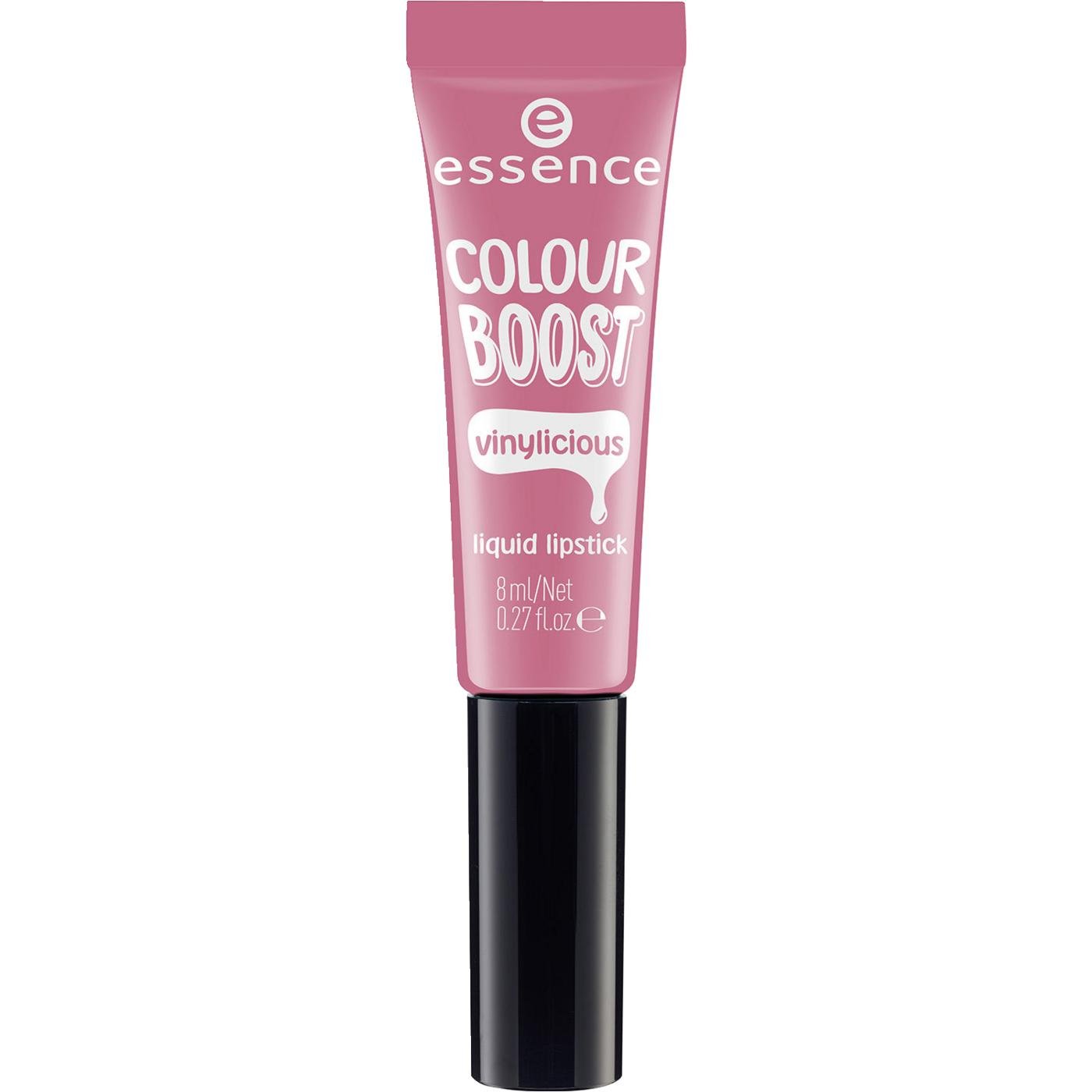 essence colour boost vinylicious liquid lipstick 03