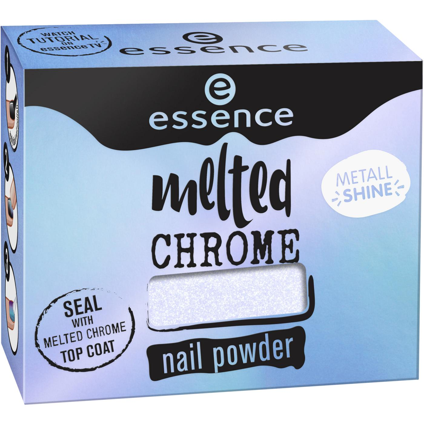 essence melted chrome nail powder 05