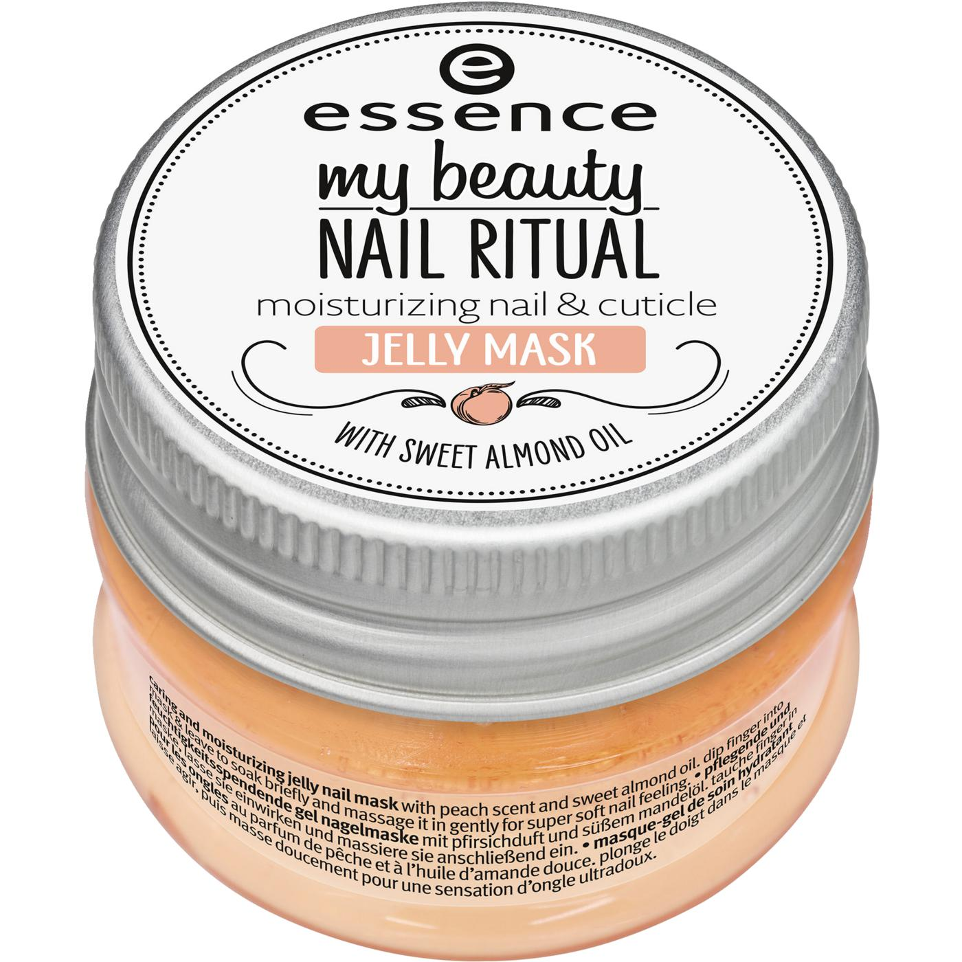 essence my beauty nail ritual moisturizing nail & cuticle jelly mask
