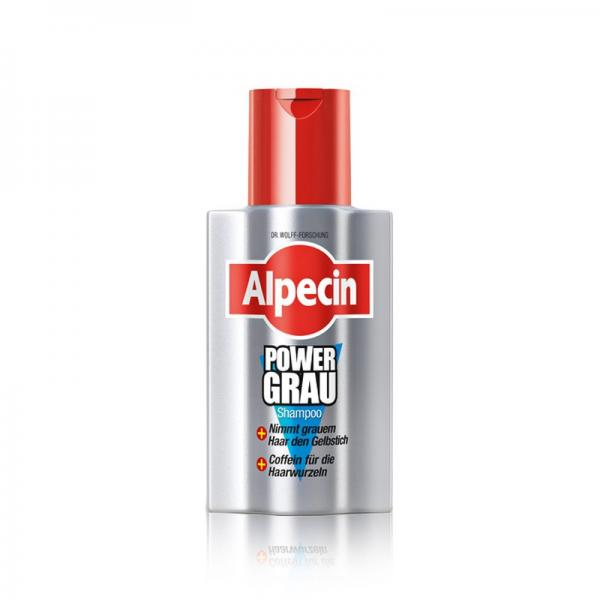 Alpecin Shampoo Power Grau 200 ml