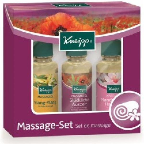 Kneipp Massage Probierset  3X20 ml